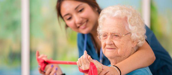نگهداری و پرستاری سالمند