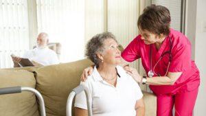نگهداری از سالمند واکری